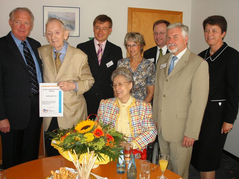 """""""Dr. Otto und Ruth Brinkmann Stiftung"""""""