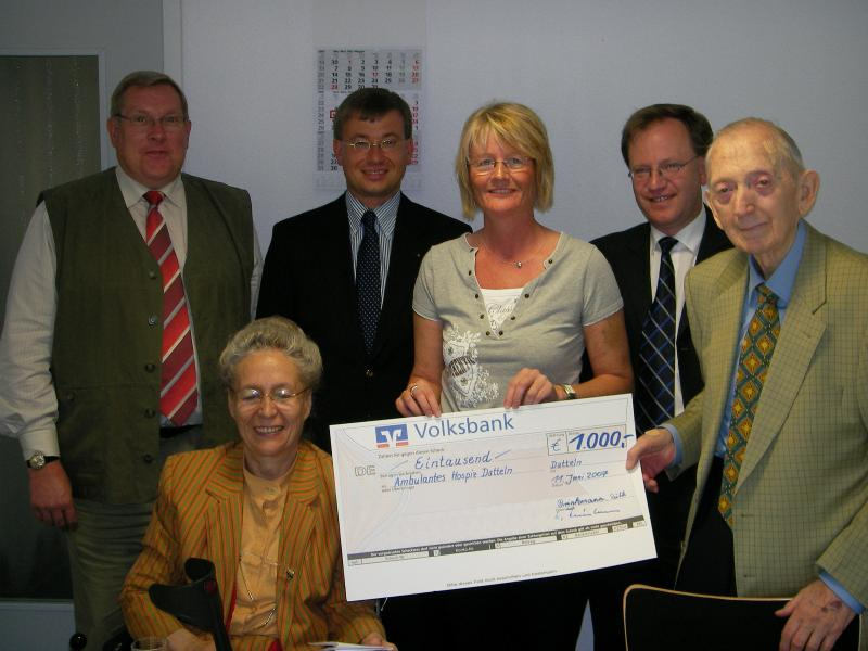 Dr. Otto und Ruth Brinkmann Stiftung fördert ambulante Hospizarbeit