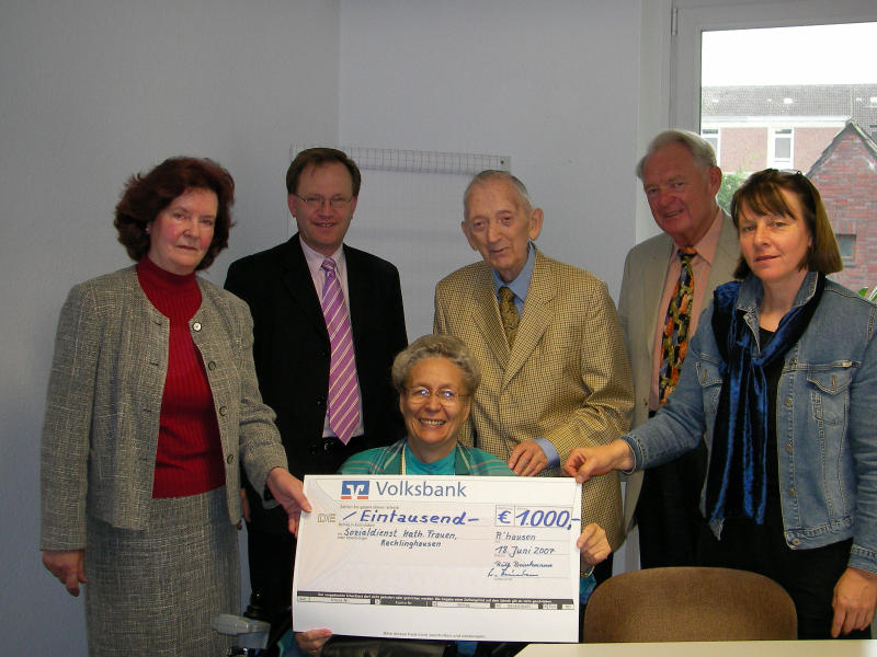 Dr. Otto und Ruth Brinkmann Stiftung unterstützt den Sozialdienst kath. Frauen