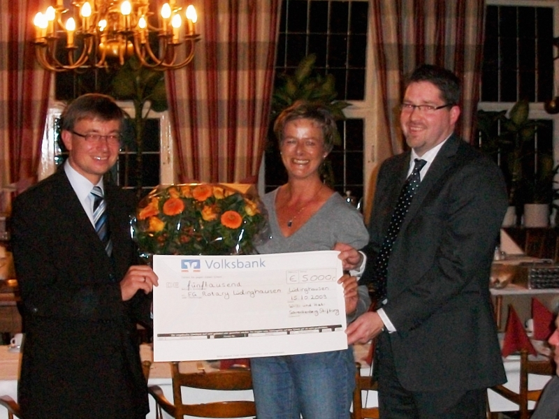Hohe Spendenbereitschaft für `Willi & Heti Schreckenberg Stiftung`