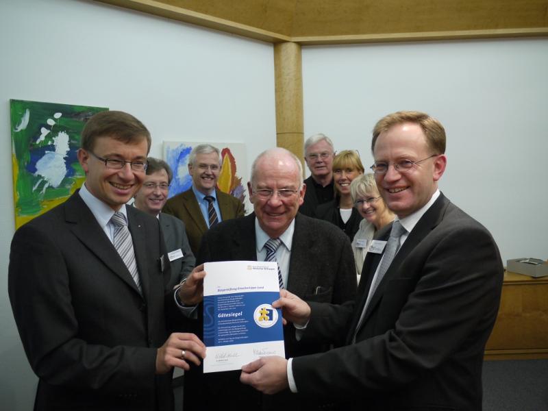 Bürgerstiftung EmscherLippe-Land erhält abermals hohe Auszeichnung