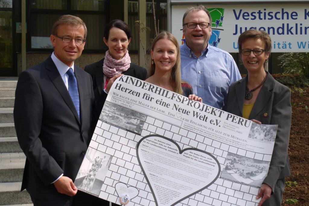 Willi & Heti Schreckenberg Stiftung wird ab Mai 2013 zwei Projekte unterstützen