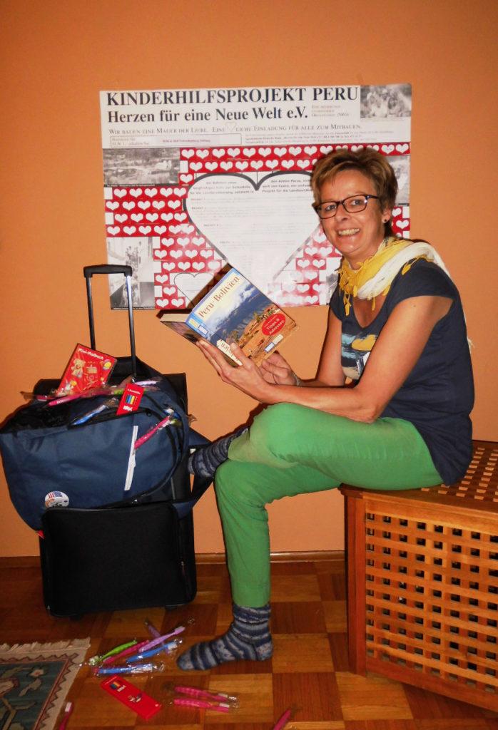 Hedwig Schreckenberg fliegt am 10. November nach Peru