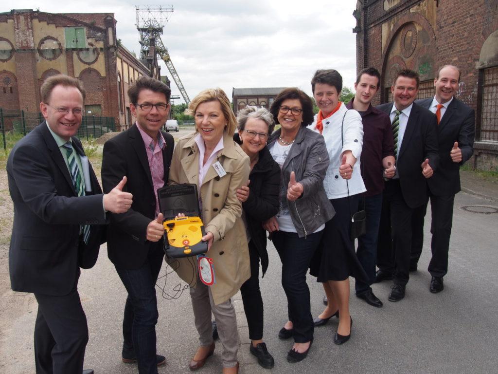 Bürgerstiftungs-Team will den 3. Defibrillator für Oer-Erkenschwick erlaufen
