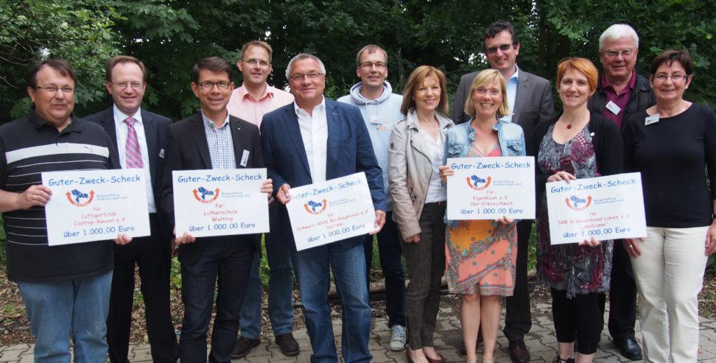 Bürgerstiftung EmscherLippe-Land unterstützt regionale Projekte mit 5.000 Euro