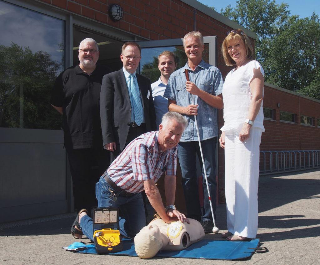 Bürgerstiftung EmscherLippe-Land überreichte Defibrillator an Stadt-Sportverband