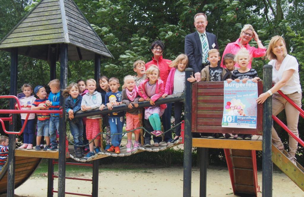 Bürgerstiftung EmscherLippe-Land will Kindergarten-Projekte fördern