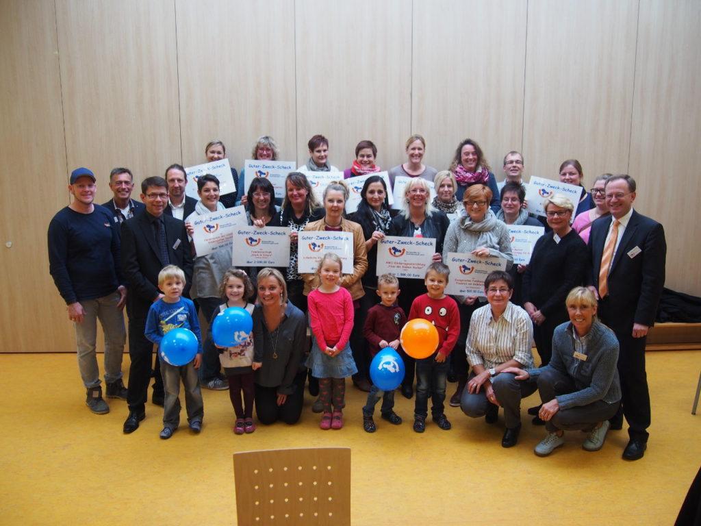 10.000 Euro für Kindergärten in der Region