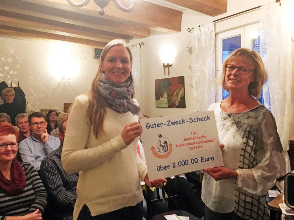 Kinderschutzambulanz erhält Spende von der Willi & Heti Schreckenberg Stiftung