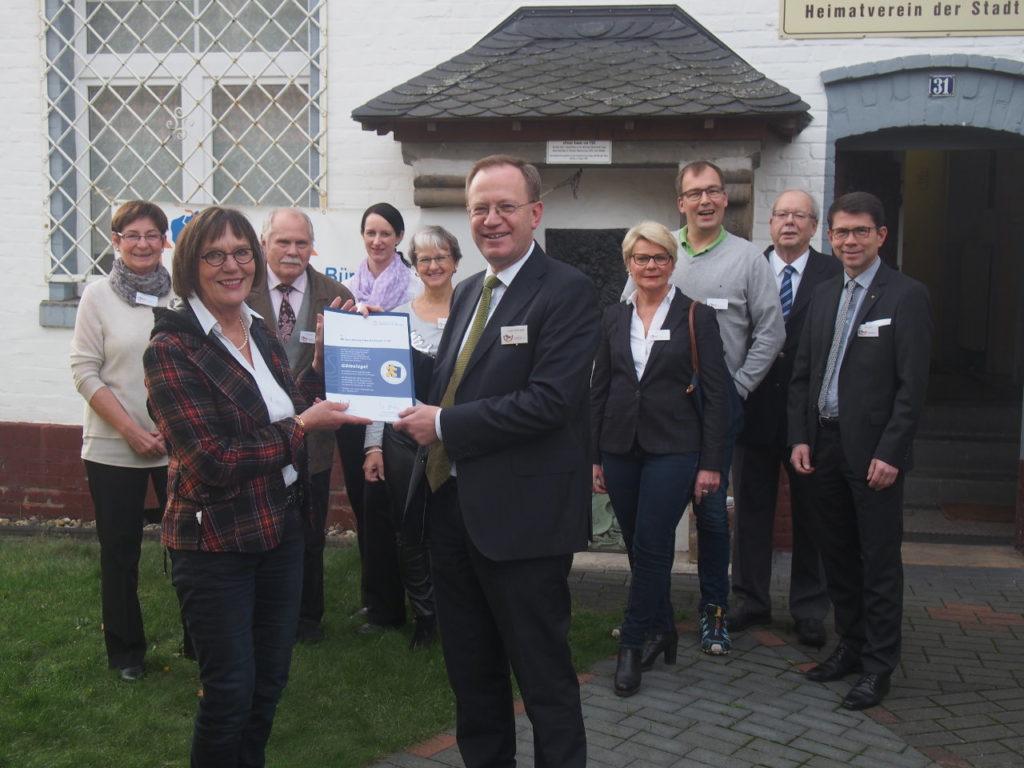 Engagement der Bürgerstiftung EmscherLippe-Land wird mit Gütesiegel belohnt