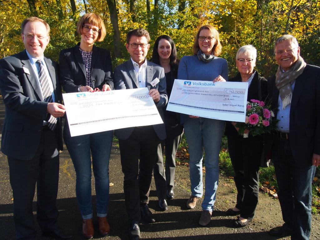 Gisbert Wiegand hinterlässt der Bürgerstiftung EmscherLippe-Land 125.000 Euro zur Gründung seiner eigenen Stiftung