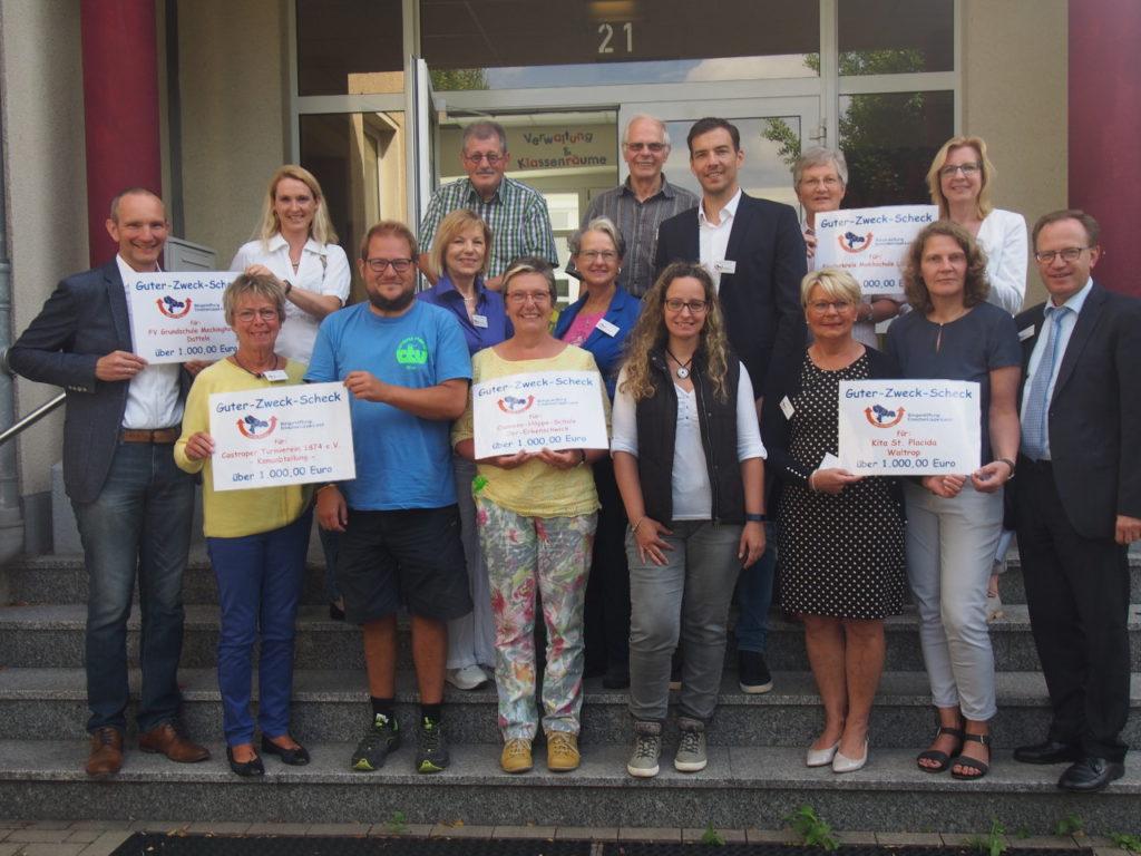 5.000 Euro für Jugendförderung durch die Bürgerstiftung EmscherLippe-Land