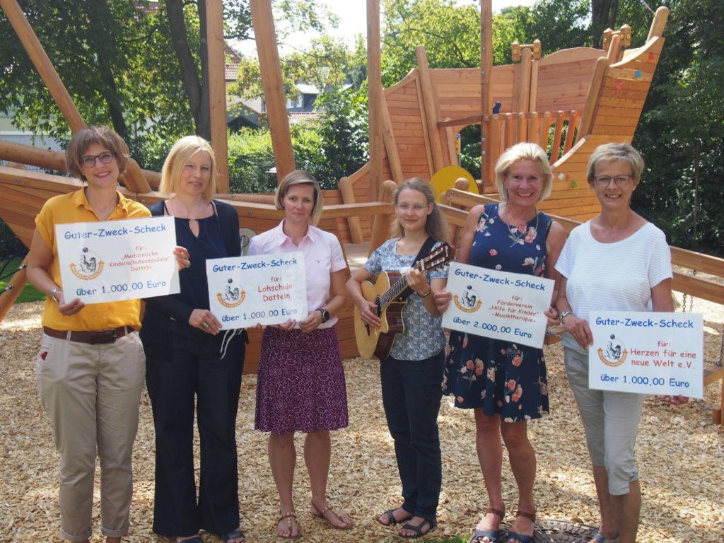 """5.000 Euro Spenden für Kinder und Jugendliche von der """"Willi und Heti Schreckenberg Stiftung"""""""