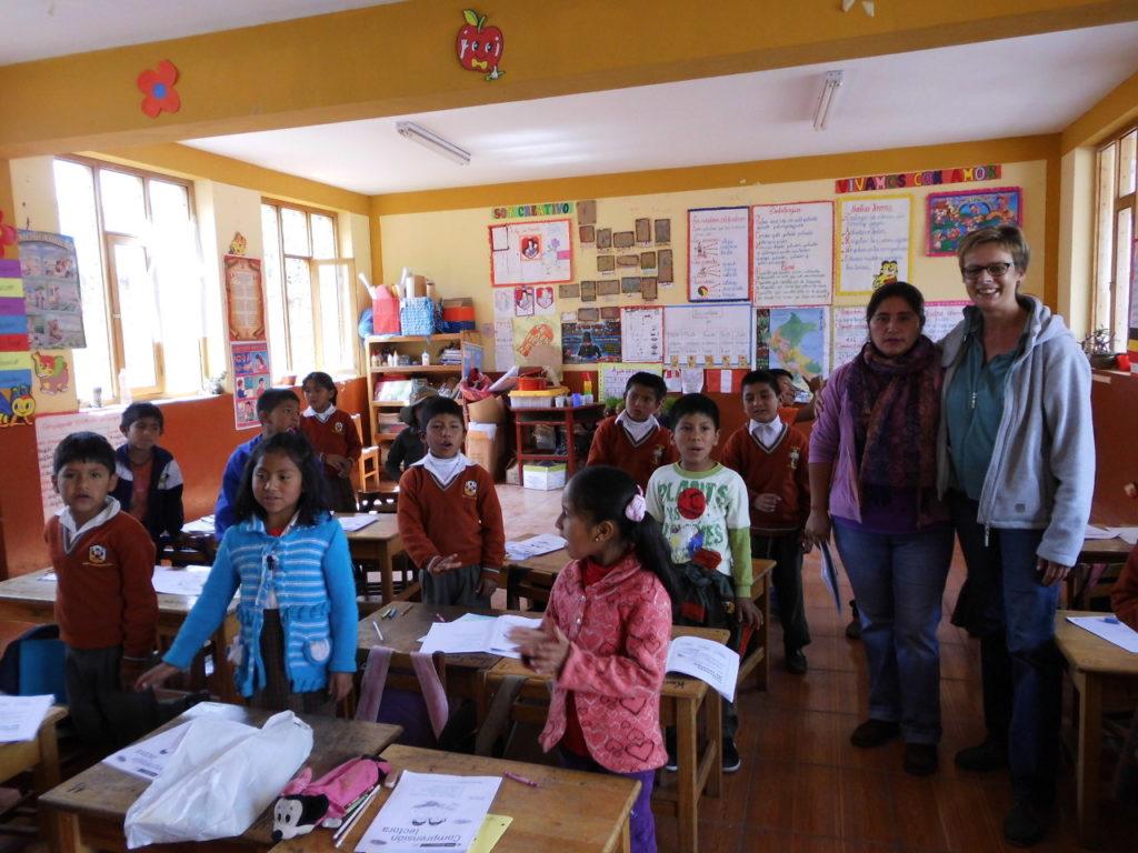 """Mein Besuch im Kinderdorf """"Munaychay"""" und der Schule """"Chichubamba"""" in Peru"""