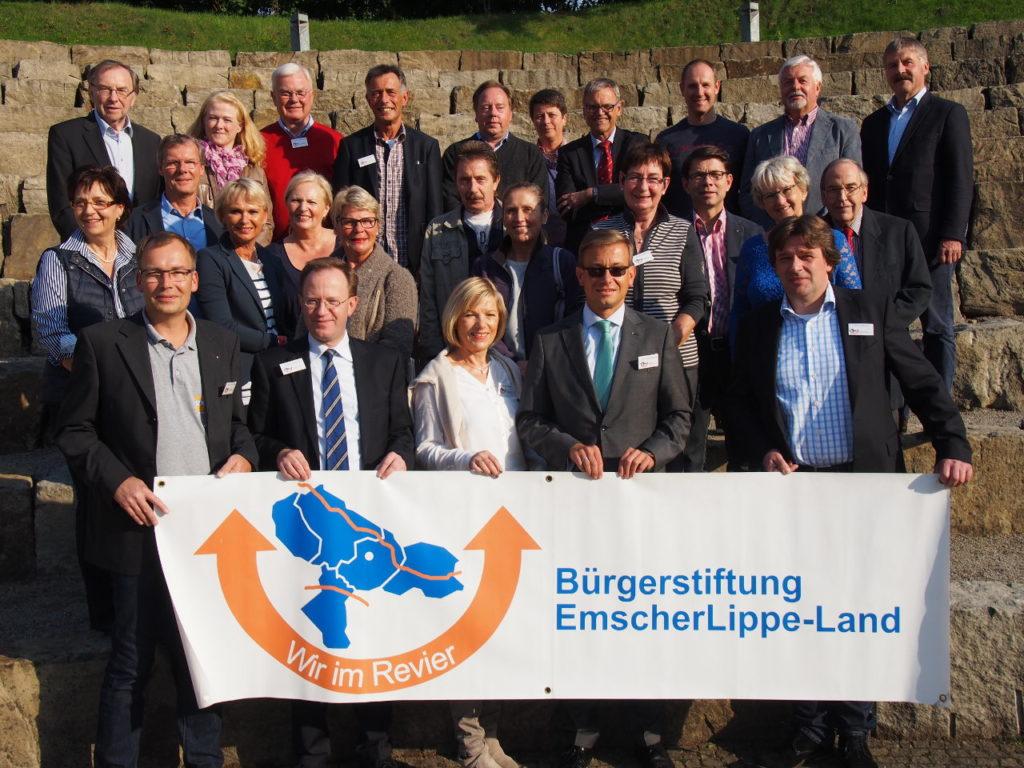 Bürgerstiftung EmscherLippe-Land auf Wachstumskurs